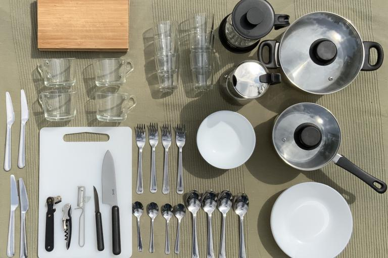 Ausstattung Küche Bullis